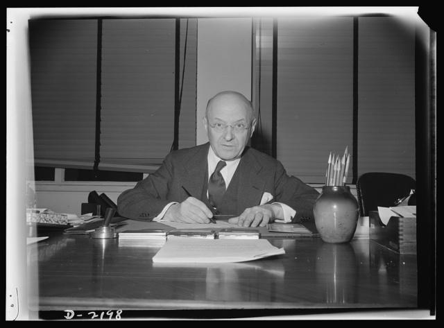 John Lord O'Brian, Director, Legal Division, War Production Board