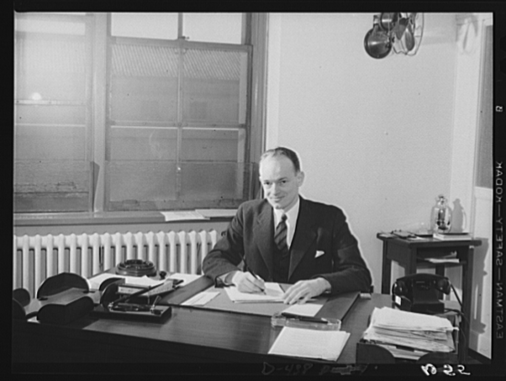 John S. Dickey, Chief, Planning Division, and Special Assistant to Nelson A. Rockefeller, Office of Coordinator of Commercial and Cultural Relations between the American Republics