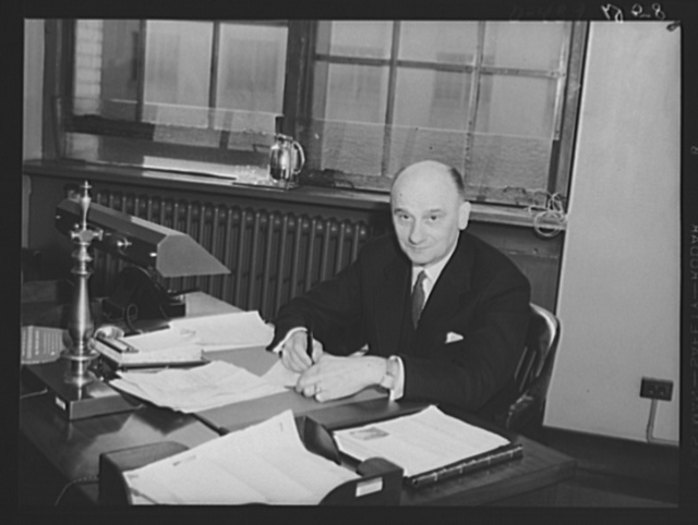 Joseph C. Rovensky, Chief of Finance and Industry, Office of Coordinator of Commercial and Cultural Relations between the American Republics