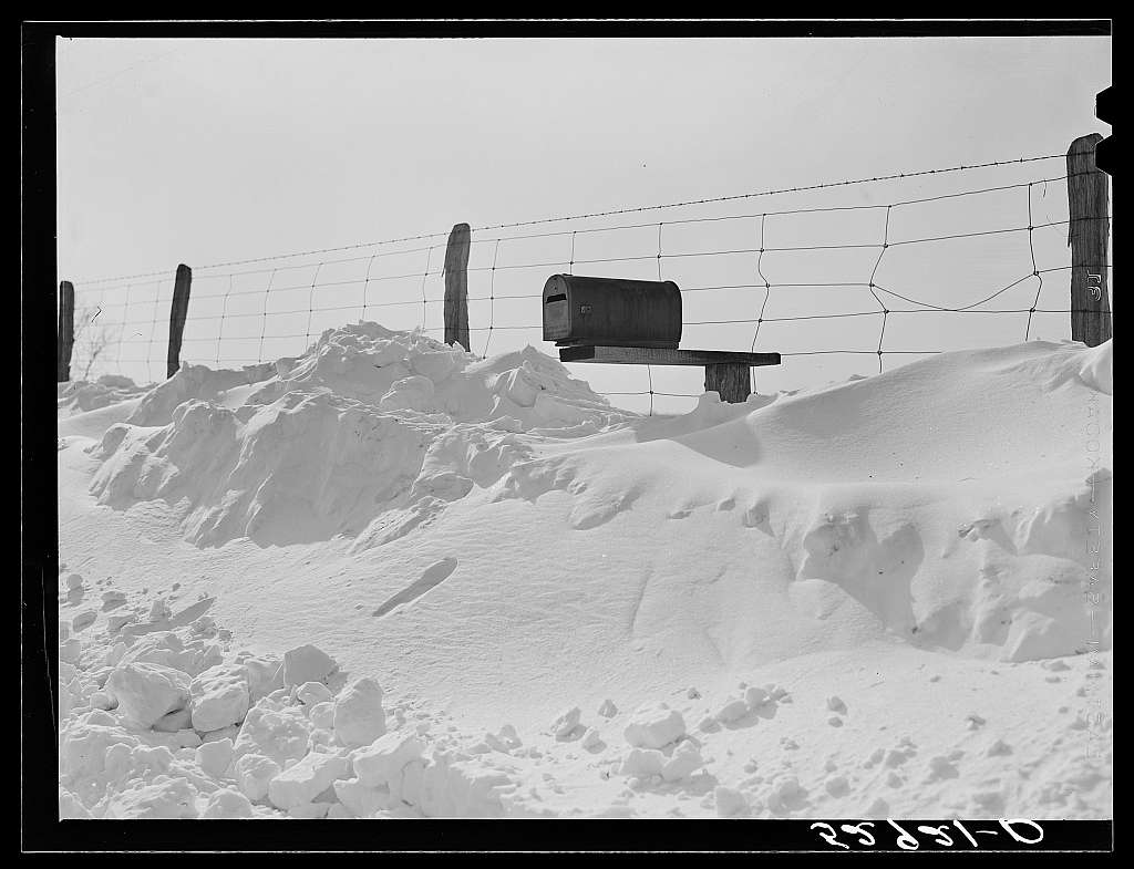 Mailboxes for farms on highways near Frederick, Maryland