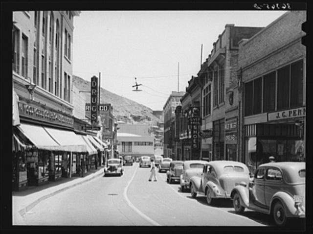 Main street of Bisbee, Arizona