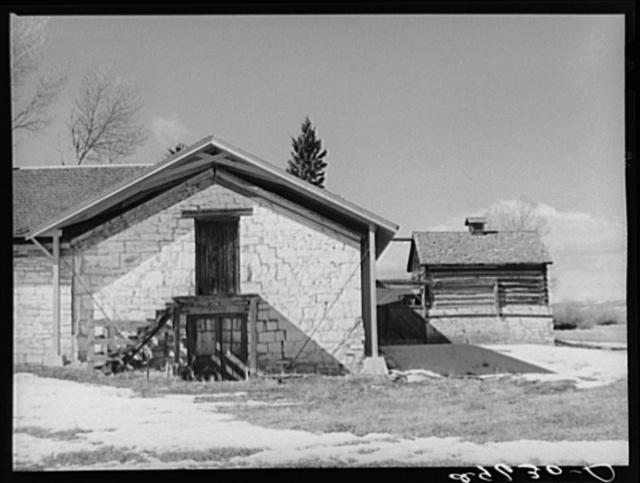 Mess hall. Fort Bridger, Wyoming