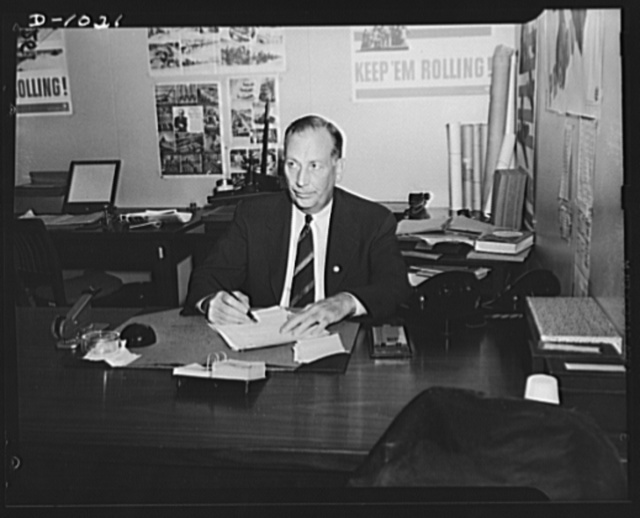 Milton H. Luce. Administrator, Health Supplies Section, Office of Production Management (OPM)