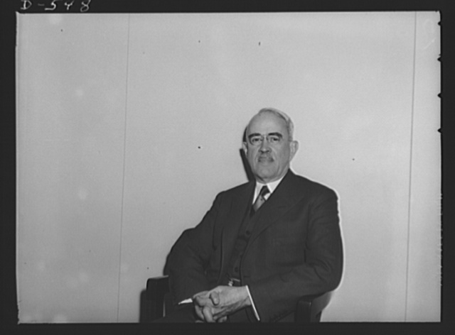 Morris L. Cooke, Technical Consultant to Mr. Sidney Hillman and Chairman of the Shipbuilding Stabilization Committee
