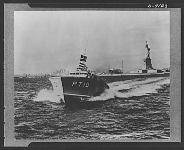 Motor torpedo boats (PT-10)