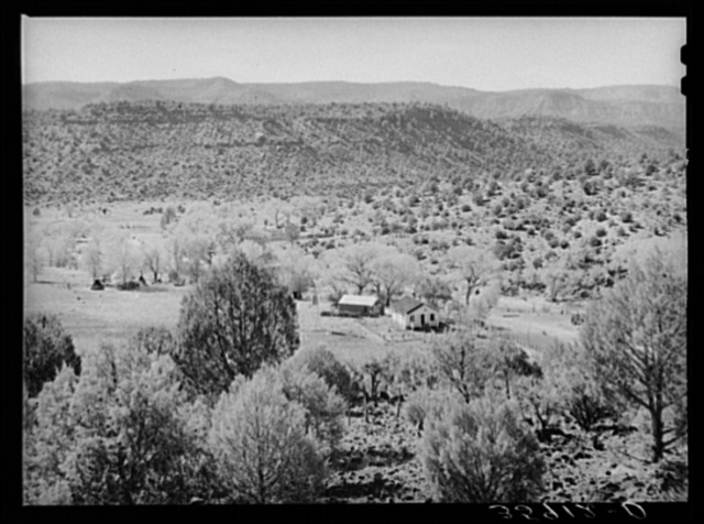 Mountain ranch in Navajo County near Carrizo, Arizona