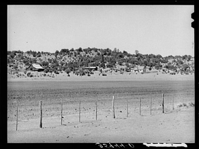 Mountain range. Navajo County, Arizona