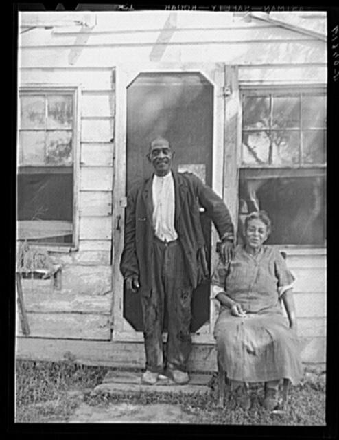 Mr. and Mrs. Dyson, aged rehabilitation borrowers. Saint Mary's County, Maryland