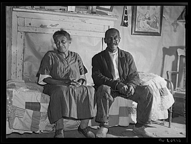 Mr. and Mrs. Dyson, FSA (Farm Security Administration) borrowers. Saint Mary's County, Maryland