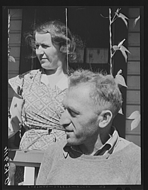 Mr. and Mrs. Paul Klappersack, Jewish farmers near Wallingford, Connecticut. They run a poultry farm and were able to make many improvements with FSA (Farm Security Administration) loans