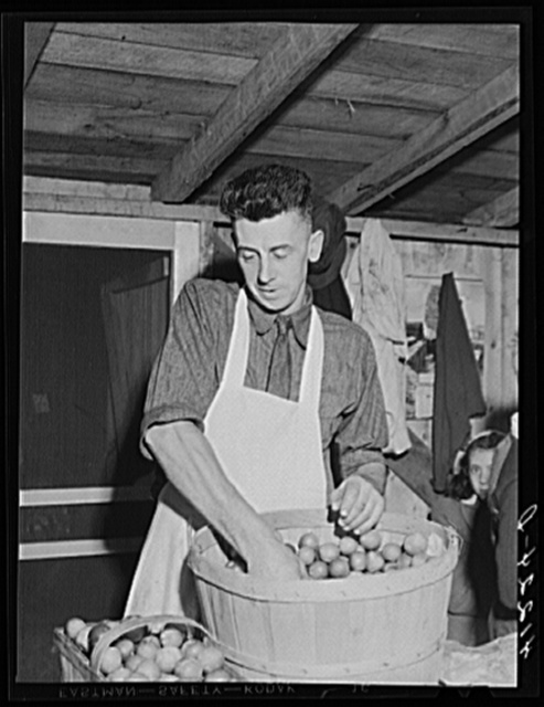 Mr. Cooper, member of board of directors of the Tri-County Farmers Co-op Market at Du Bois, Pennsylvania