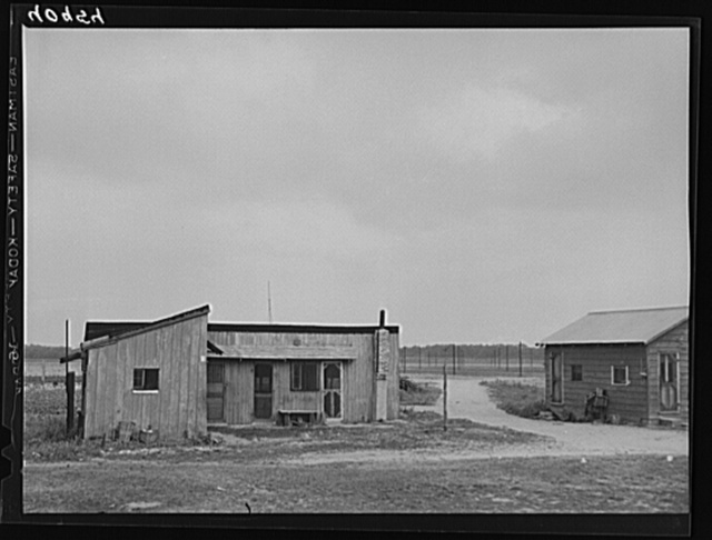 New Jersey housing for migratory workers near Cedarville, New Jersey