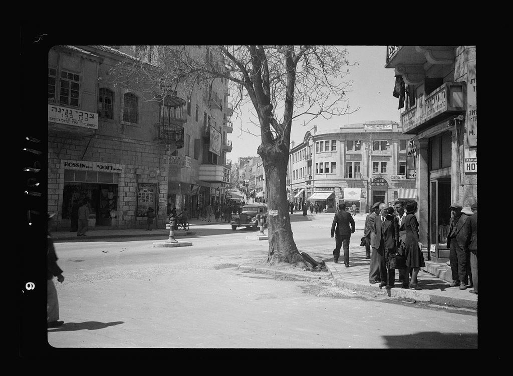 Newer Jer. [i.e., Jerusalem] streets
