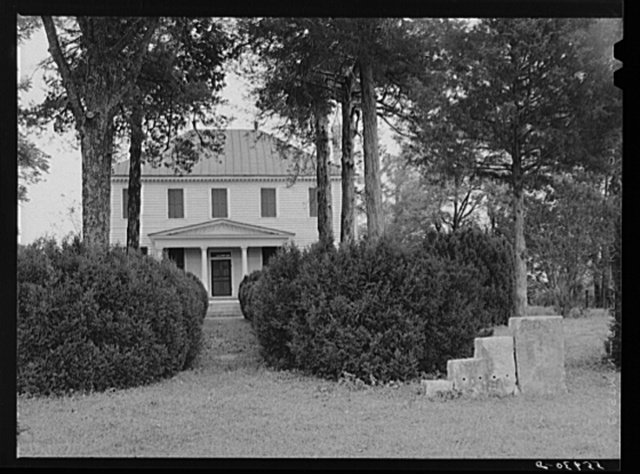 Old Yarborough house in Caswell County, North Carolina