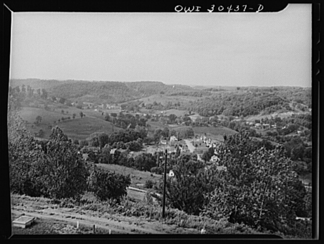 Overlooking Gallipolis, Ohio