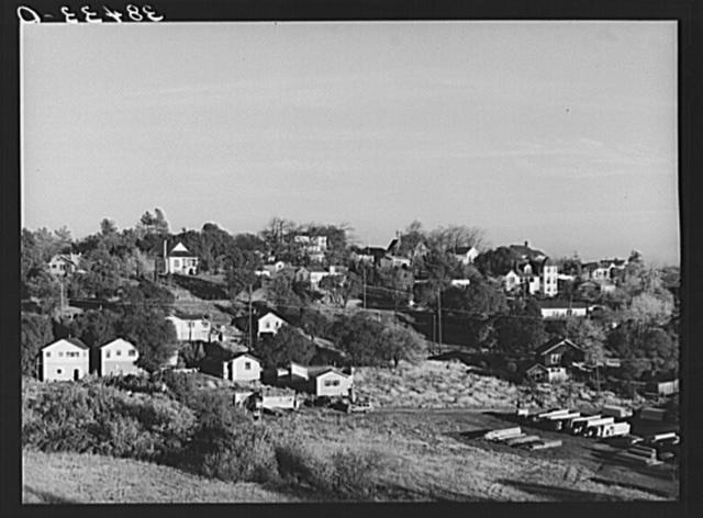 Part of residential district. Auburn, California