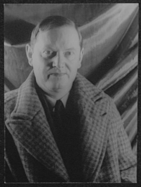 [Portrait of Evelyn Waugh]