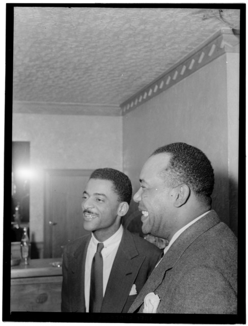 [Portrait of Teddy Wilson and Zutty Singleton, Turkish Embassy, Washington, D.C., 1940]