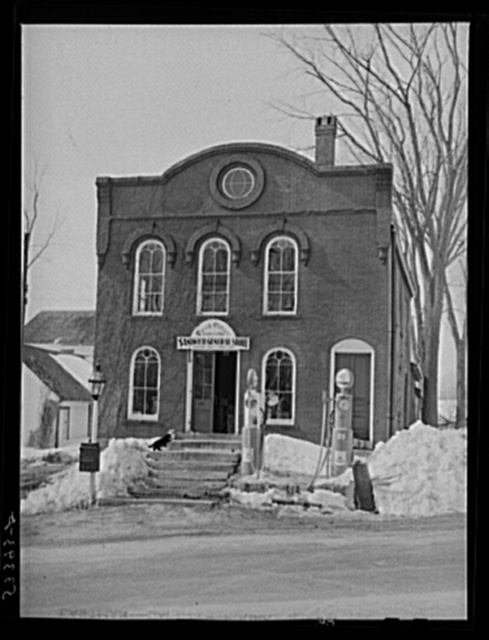 Post office and general store. Sandwich, New Hampshire