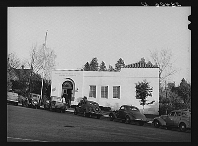 Post office. Auburn, California, county seat of Placer County