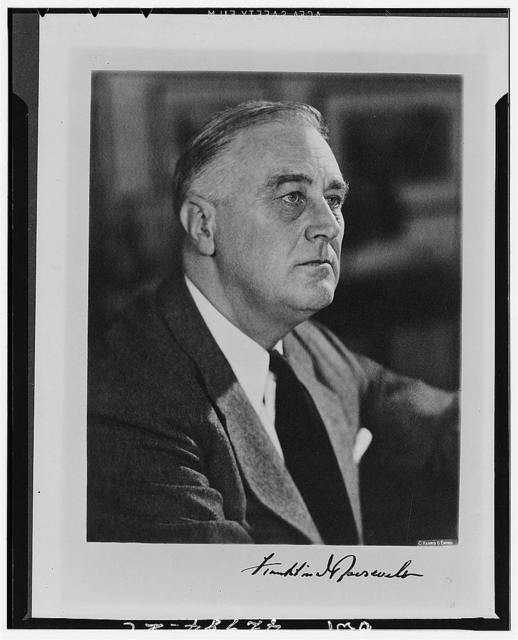 [President Franklin D. Roosevelt]