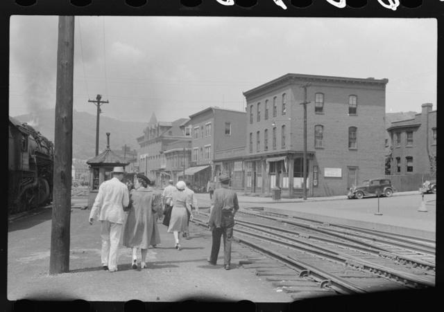 Railroad station, Cumberland, Maryland