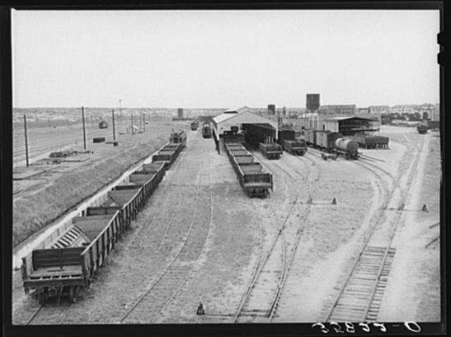 Railroad yards. Big Spring, Texas