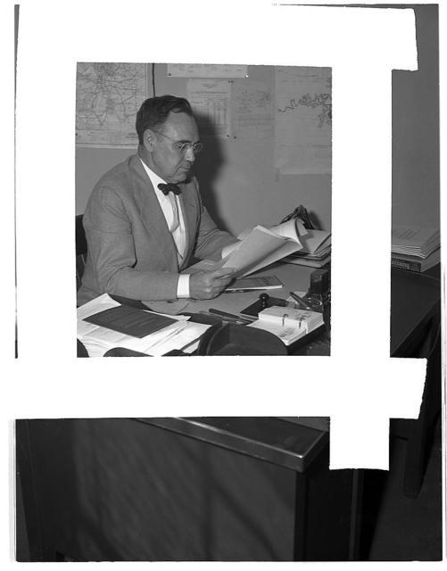 R.C. Allen, consultant, ferrous minerals and alloys, Production Division