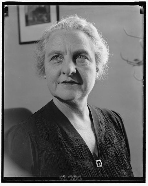 Rep. Florence Bolton of Ohio, 3-1940