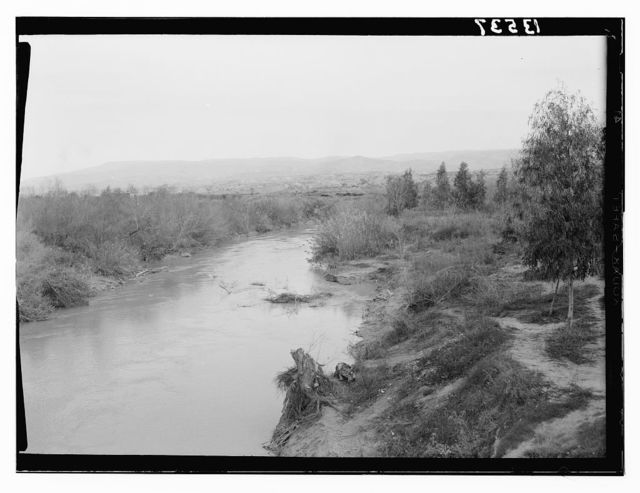 River Jordan from Allenby bridge
