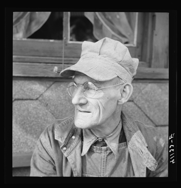 Robert Perry, railroad engineer working on the Central Railroad in New Jersey and living on Center Street. Upper Mauch Chunk, Pennsylvania