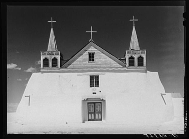 Roman Catholic church at Isleta, New Mexico