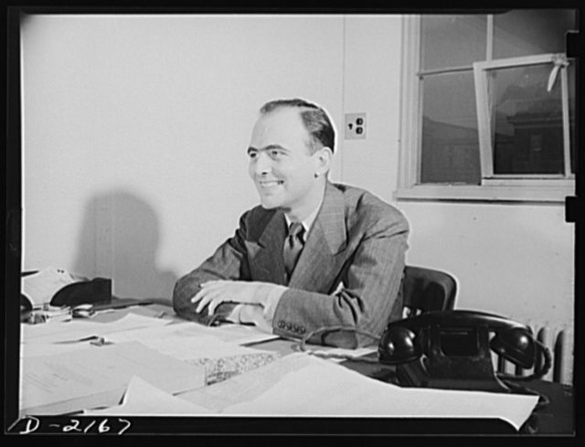 Roswell H. Whitman, Price Executive, Steel, Iron and Steel Products Section, Office of Price Administration