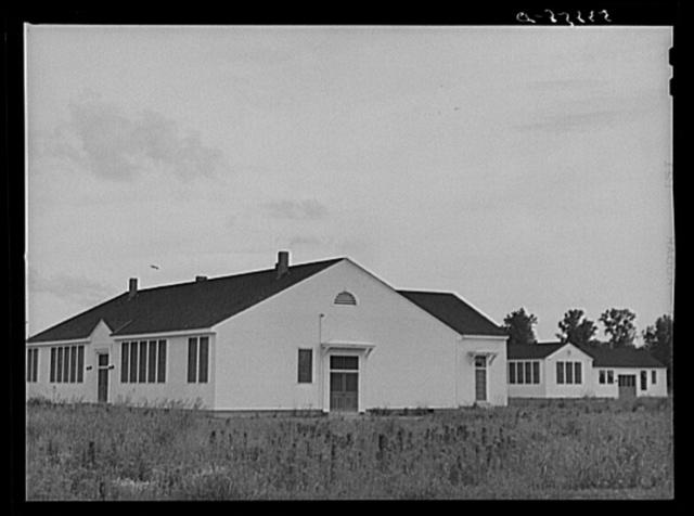 School and community buildings on La Delta Project. Thomastown, Louisiana