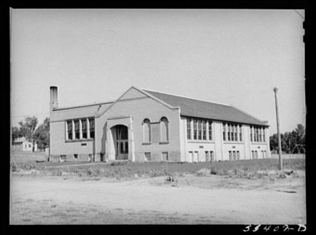 Schoolhouse. Mendon, Utah