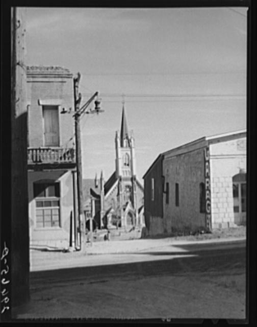 Side street. Virginia City, Nevada