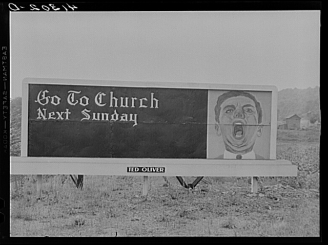 Sign on highway between Sykesville, Pennsylvania and Punxsutawney, Pennsylvania