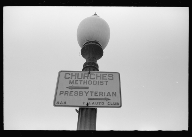 Sign, Rickville, Indiana