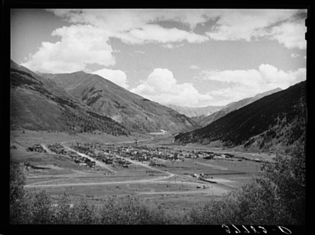 Silverton, Colorado. This is a former big mining camp of the state