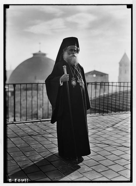 The Greek patriarch.