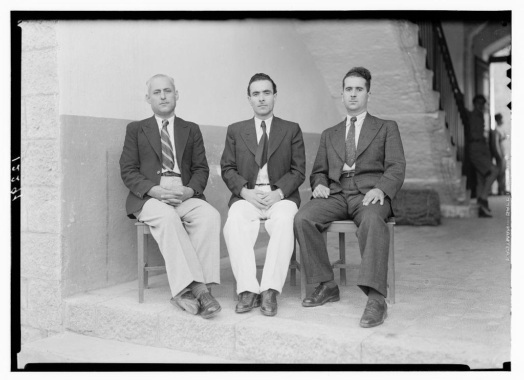 "Trio group of the Lebanoness ""Zajjaleen"" without Ajaj Eff"