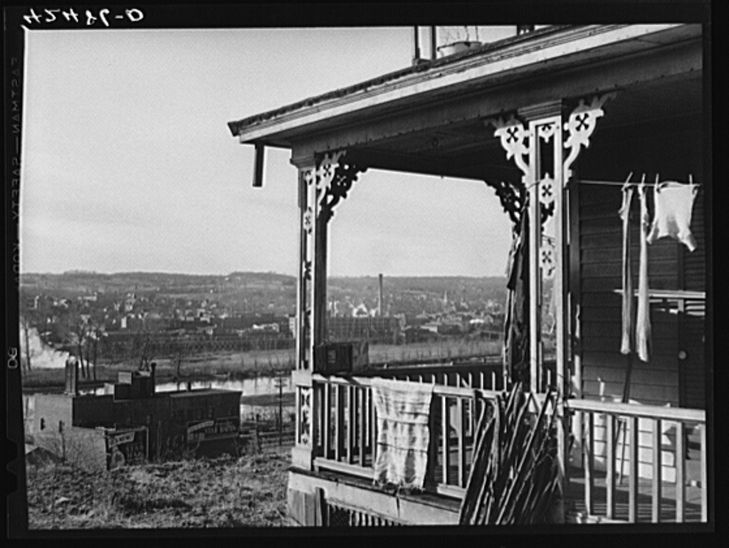 View of Derby, Connecticut from the Ansonia side of the Naugatuck River