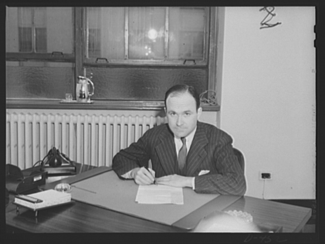 William Barclay Harding, Director, Division of Transportation and Aviation, Office of Coordinator of Commercial and Cultural Relations between the American Republics. Retains partnership in Smith, Barney and Company, Investment Banking Firm, 14 Wall Street. New York City
