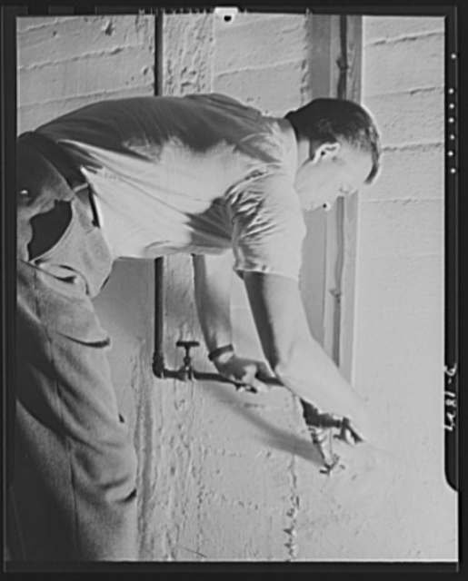 Air raid protection--what NOT to do when alarm sounds. DON'T shut off the water and gas pipes leading into your cellar. You may need water for fire fighting. Consult the directions issued by your local Civilian Defense Council or gas company for instructions on gas control