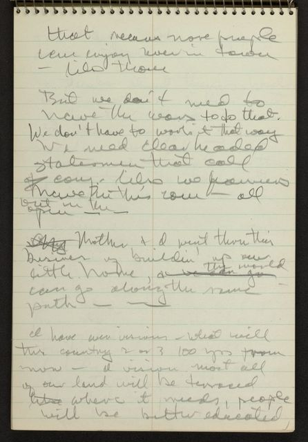 Alan Lomax Collection, Manuscripts, Southern States (AL, GA, NC, TN, VA), 1941 June-Aug
