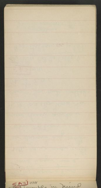 Alan Lomax Collection, Manuscripts, Southern States (AL, GA, NC, TN, VA)m 1941 June-Aug