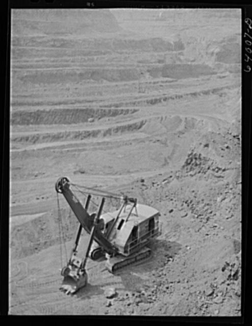Albany iron mine. Hibbing, Minnesota