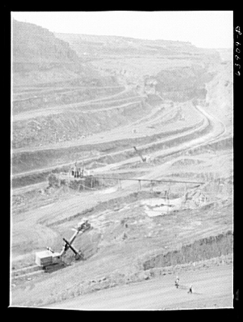 Albany Mine, Hibbing, Minnesota