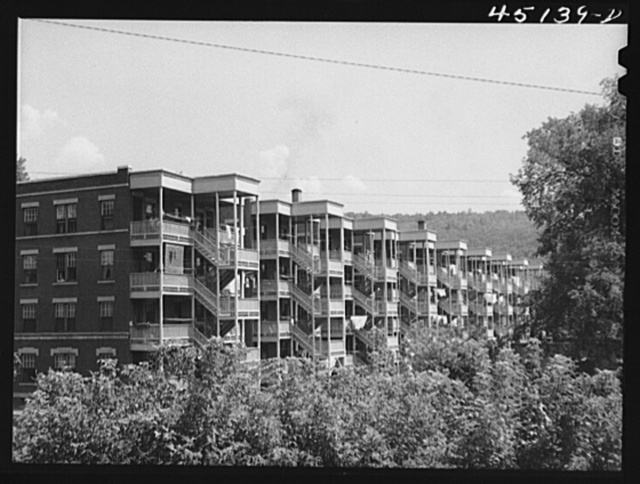 Apartment houses in Windsor, Vermont