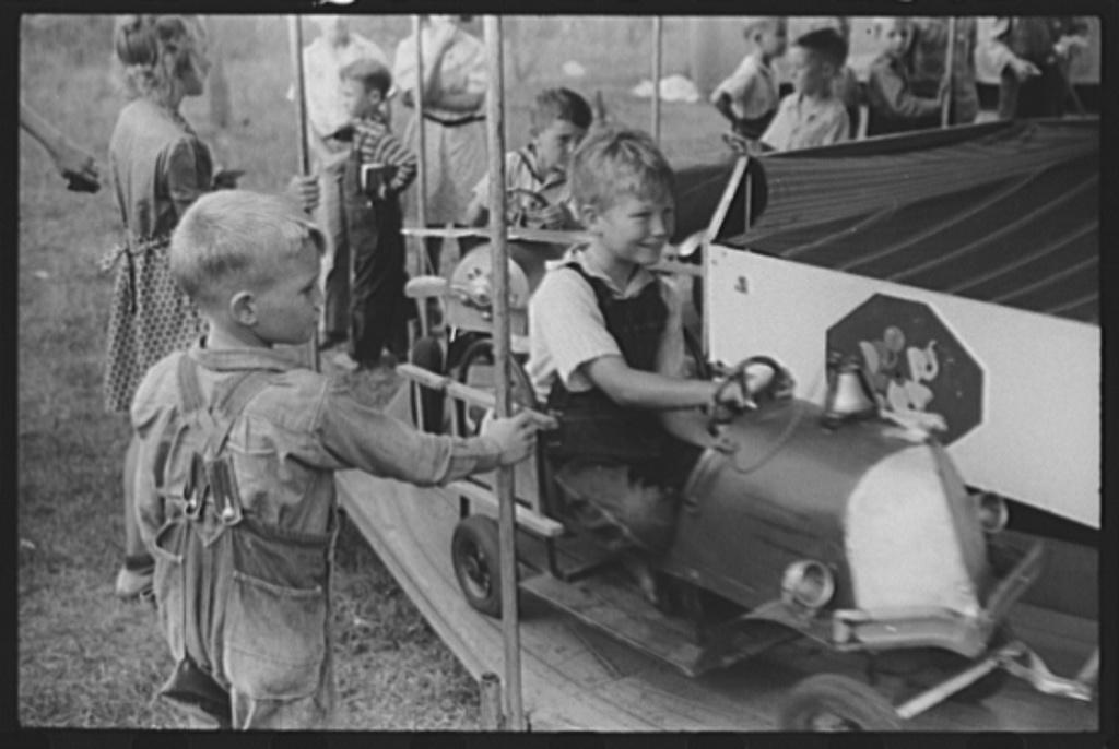 At the Greene County fair in Greensboro, Georgia
